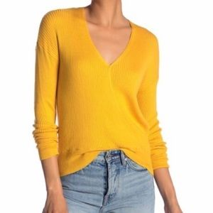 🛍Elodie Faux Wrap Sweater